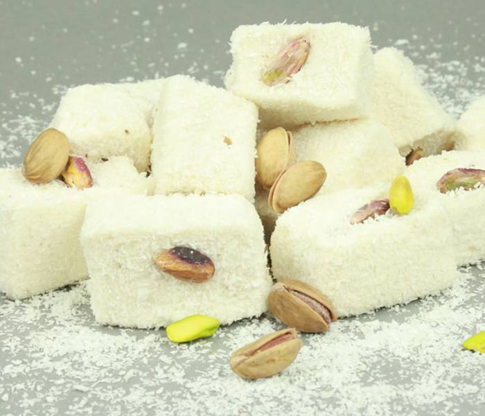 Peanut Turkish Delight